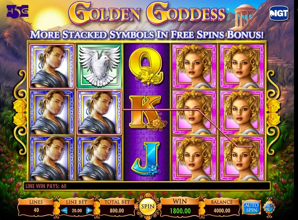 Golden Godess slot